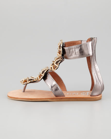 Tropez Jeweled Sandal