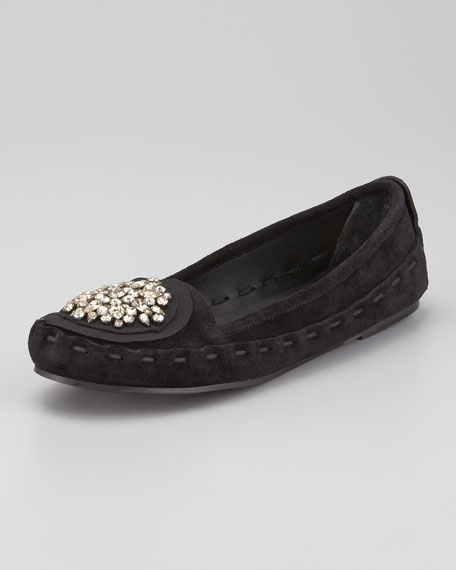 Jeweled Ornament Loafer