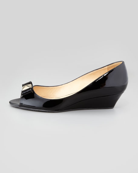 patent demi-wedge bow pump