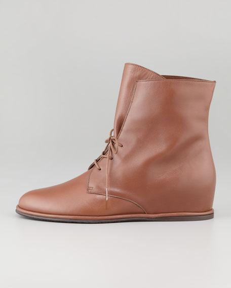Stepmistress Hidden-Wedge Boot, Luggage