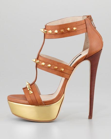 Bartley Studded Platform Gladiator Sandal
