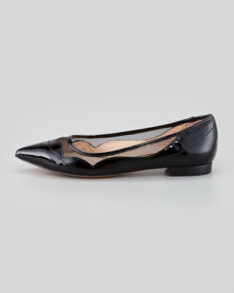 Bibi Mesh and Patent Flat