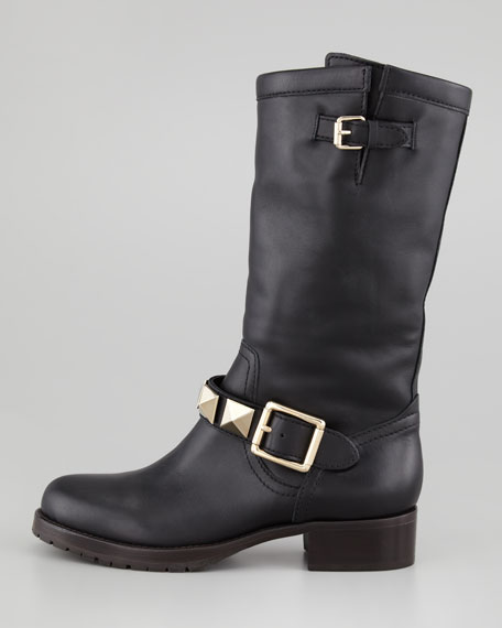 Rockstud Lined Boot