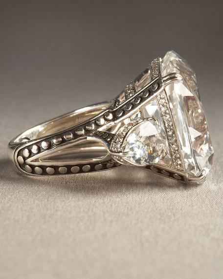 Kaya White Topaz Ring