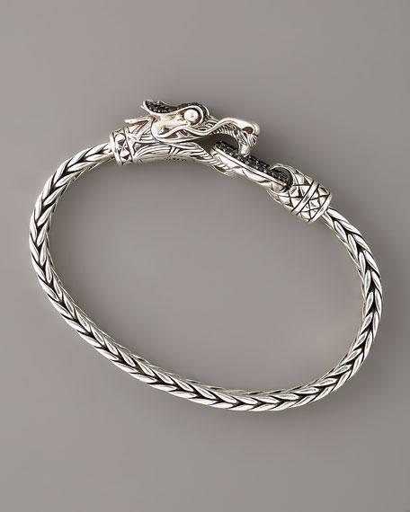 Naga Black Sapphire Dragon Bracelet