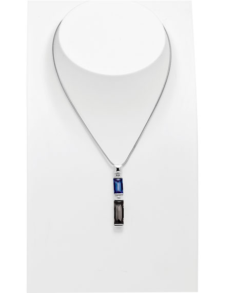 Insomnight Blue & Silver Mordore Necklace