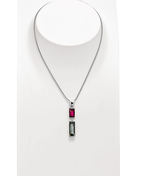 So Insomnight Pink & Silver Mordore Pendant Necklace