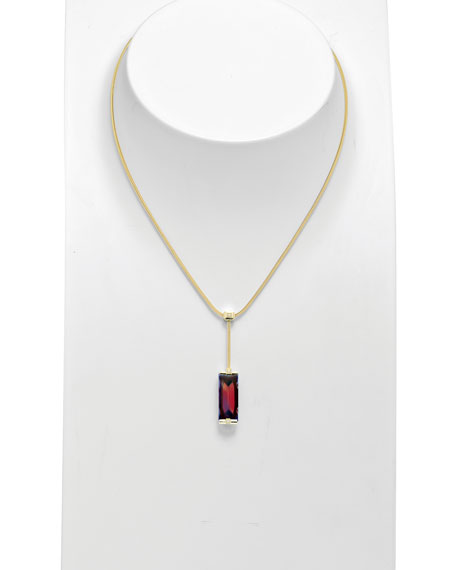 So Insomnight 18kt Ruby Iridescent Necklace