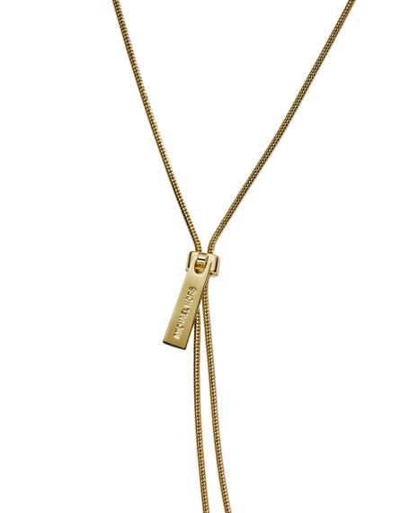 Small Zip Necklace