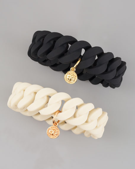 Rubber Katie Turnlock Bracelet