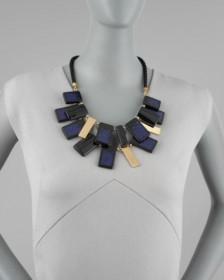 cobalt clean break necklace