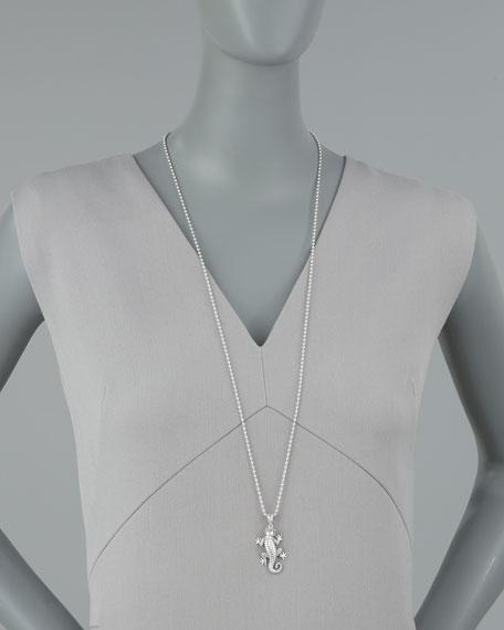 Rare Wonders Gecko Pendant Necklace