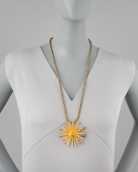 Starburst Pendant Necklace