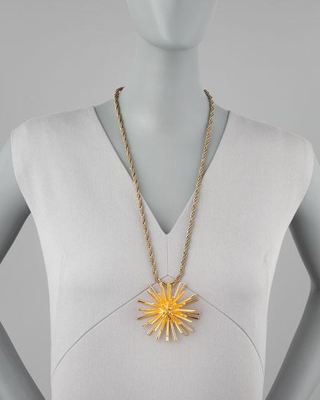 Starburst Pendant Necklace