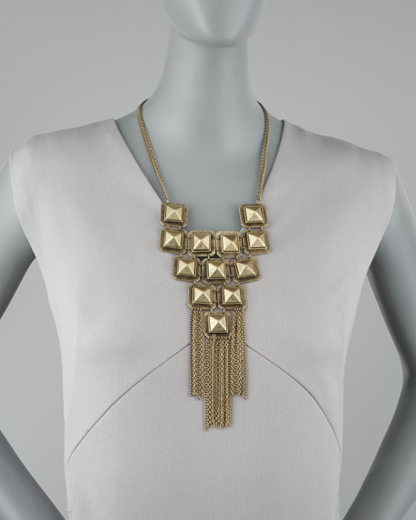 Egyptian Night Bib Necklace