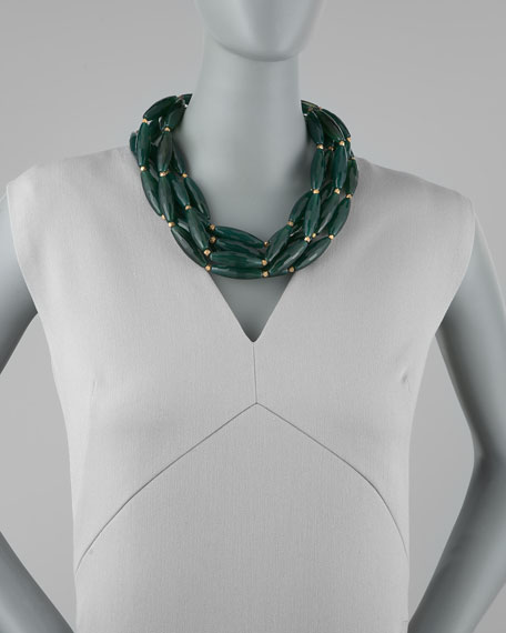 Agate Multi-Strand Necklace
