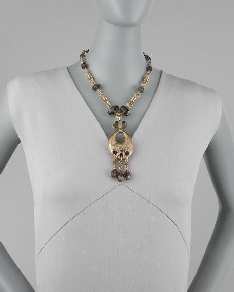 Smoky Quartz Pendant Necklace