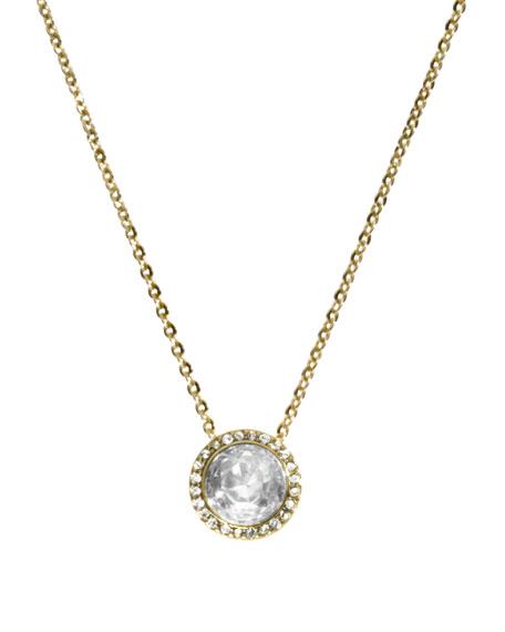 Pendant Necklace, Golden