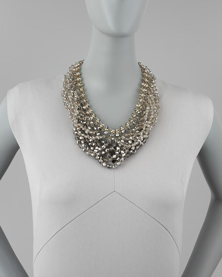 city sparkler collar necklace