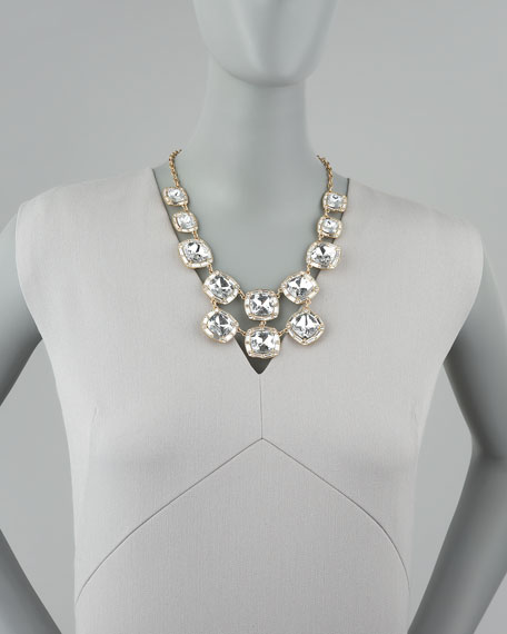 on the town crystal necklace
