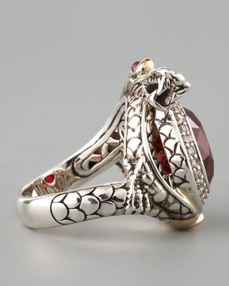 Ruby Dragon Ring, Small