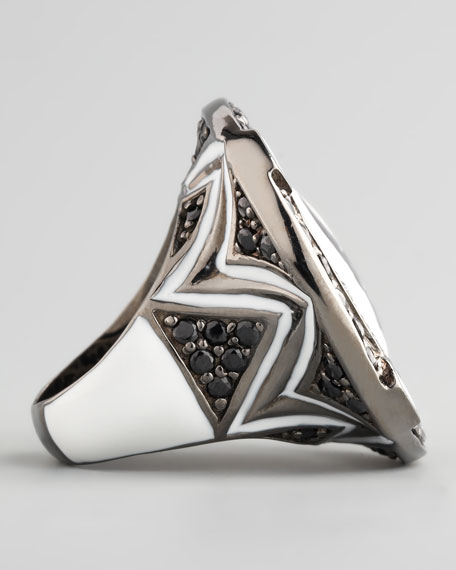 Skull Sapphire Ring