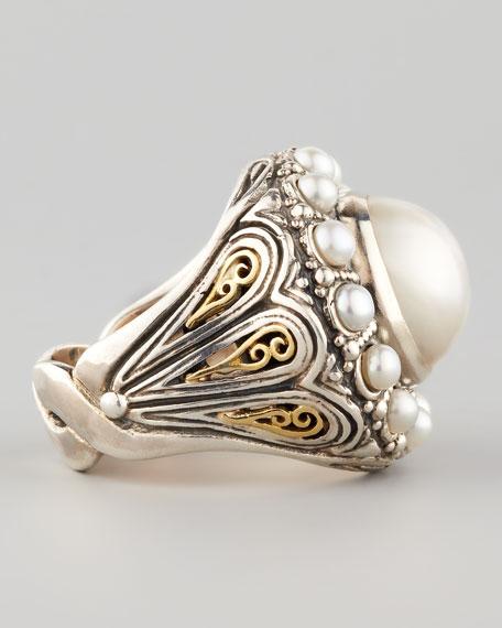 Kassandra Mabe Pearl Ring