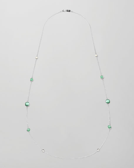 "Wonderland Graduated-Station Necklace, 37""L"