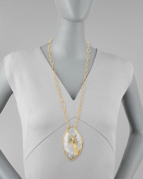 Siyabona Panther Pendant Necklace