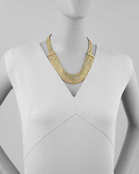 Athena Woven Chain Necklace