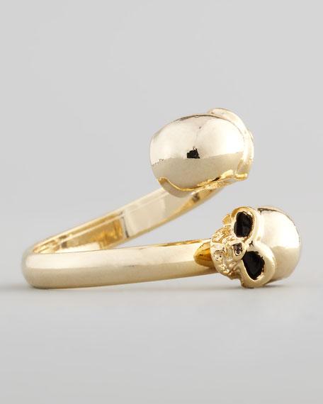 Skull Crossover Ring