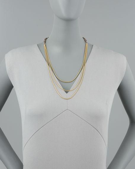 Spaghetti Chorus Layering Necklace