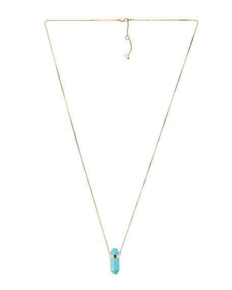Pendant Necklace, Turquoise