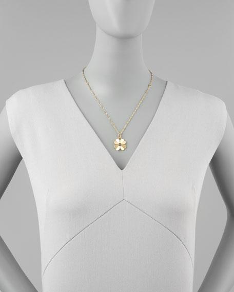 Shawn Floral Pendant Necklace