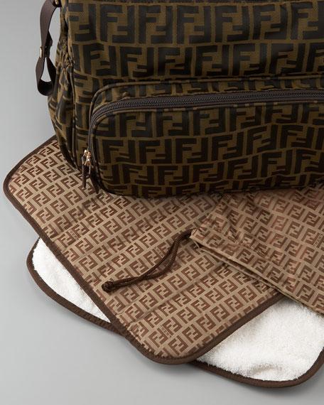 c7abbc5fd8b6 Fendi Logo Diaper Bag