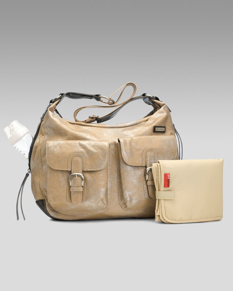 Emily Foil Shoulder Bag