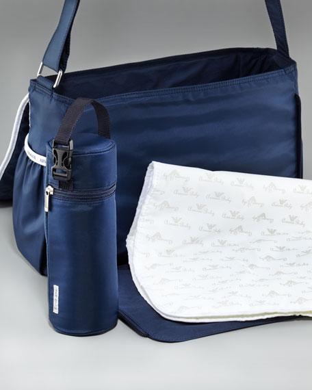 Trimmed Diaper Bag