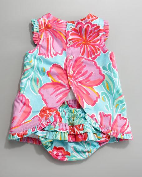 Ruffled Dress Set