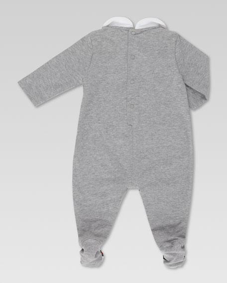 Long-Sleeve Jersey Sleepsuit
