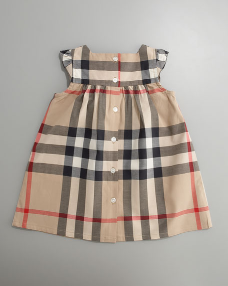 Exploded Check Dress