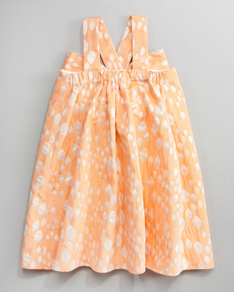 Shimmer Double-Bow Dress, 12-24 months