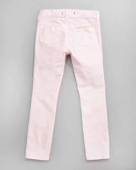 Baby J Luxe Baby Pink Jeans