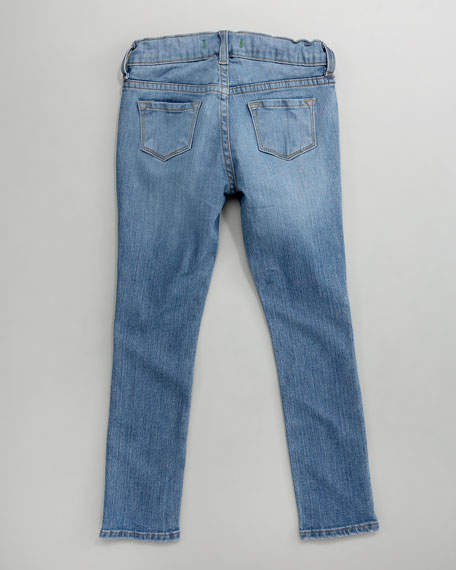 Skinny Lullaby Jeans, Lalla/Light Indigo