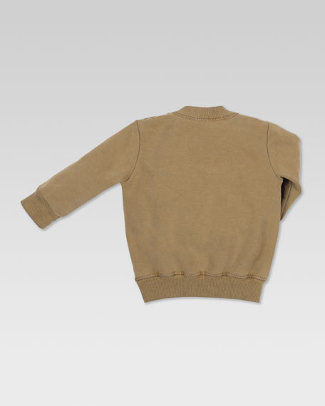 Teddy Bear Jersey Sweatshirt