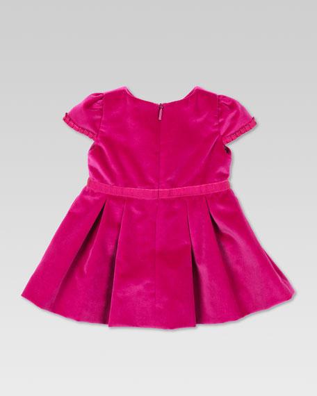 Velvet  Bow Dress