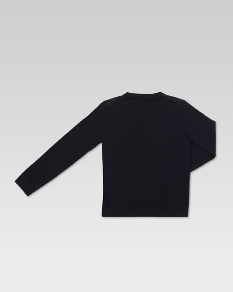 Extra-Fine V-Neck Sweater