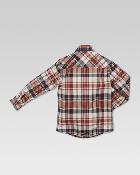 Check Gucci Label Shirt