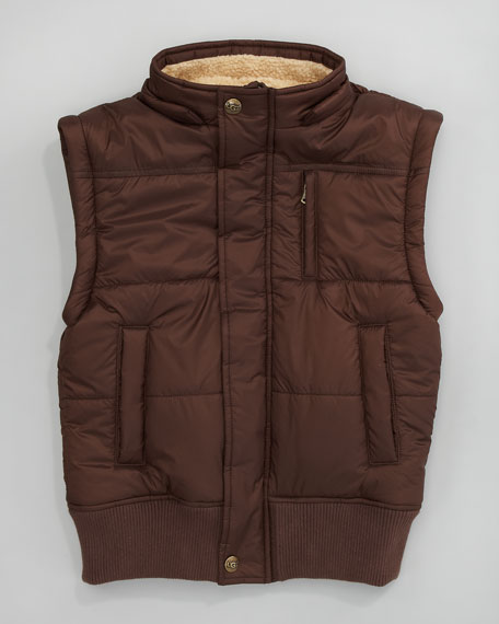 Crazy Horse II Bomber Jacket, Grizzly