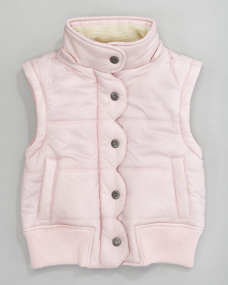 Liseli II Quilted Bomber Jacket, Baby Pink