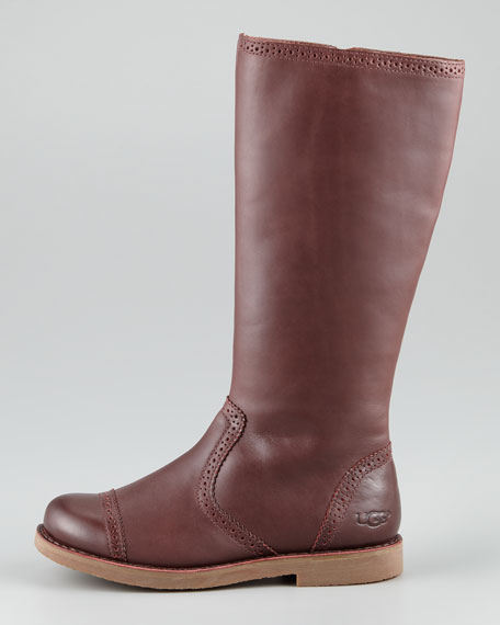4c4037b25a0 Kid Maisie Tall Leather Boot